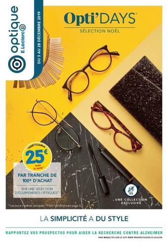 E.Leclerc catalogue publicitaire (valable jusqu'au 28-12)
