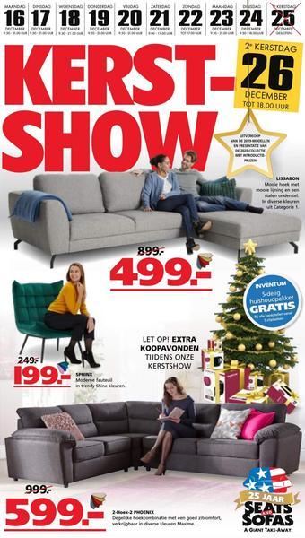 Seats and Sofas reclame folder (geldig t/m 24-12)