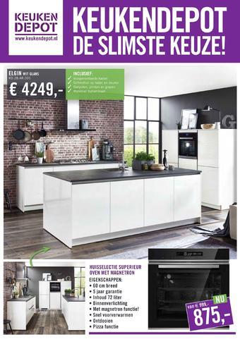 Keukendepot reclame folder (geldig t/m 22-12)