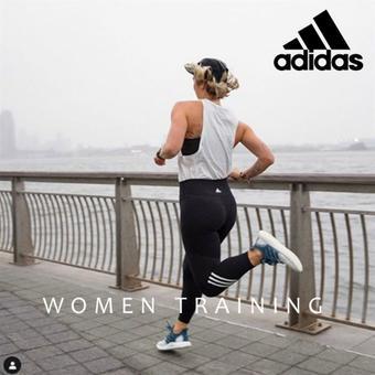 Adidas reclame folder (geldig t/m 10-02)