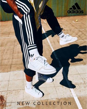 Adidas reclame folder (geldig t/m 20-01)