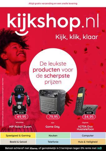 Kijkshop reclame folder (geldig t/m 31-01)