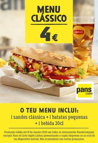 Pans & Company folheto promocional (válido de 10 ate 17 19-01)