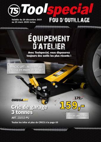 Toolspecial catalogue publicitaire (valable jusqu'au 25-03)