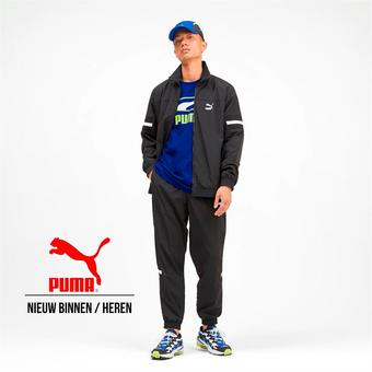Puma reclame folder (geldig t/m 22-02)