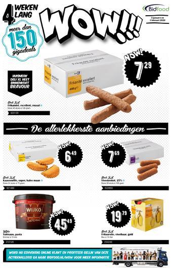 Bidfood reclame folder (geldig t/m 01-02)