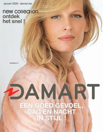 Damart reclame folder (geldig t/m 14-06)