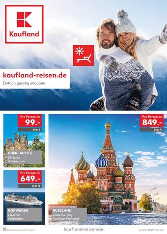 Kaufland Reisen Prospekt (bis einschl. 26-01)