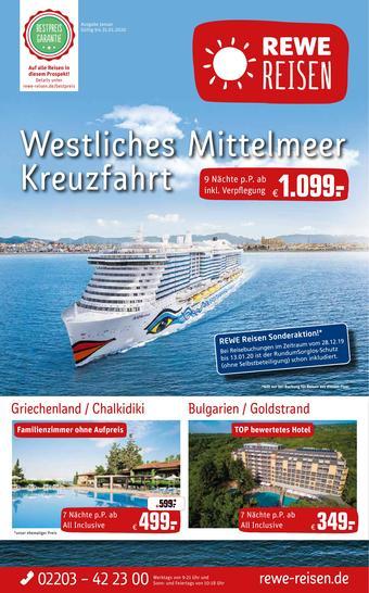 REWE Reisen Prospekt (bis einschl. 31-01)