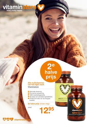 Vitaminstore reclame folder (geldig t/m 23-03)