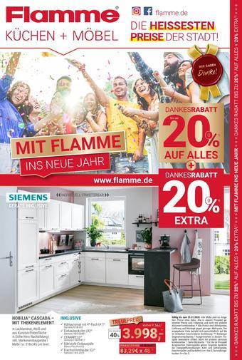 Flamme Möbel Prospekt (bis einschl. 26-01)