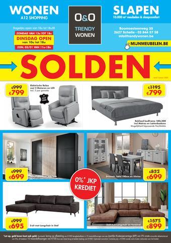 O&O Trendy Wonen reclame folder (geldig t/m 31-01)
