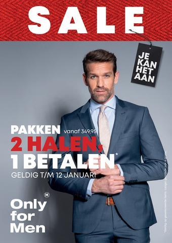 Only for Men reclame folder (geldig t/m 19-01)
