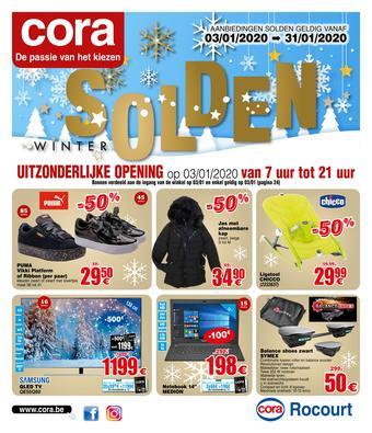 Cora reclame folder (geldig t/m 31-01)