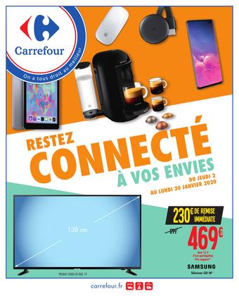 Carrefour catalogue publicitaire (valable jusqu'au 20-01)