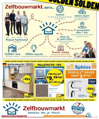 Zelfbouwmarkt reclame folder (geldig t/m 27-01)
