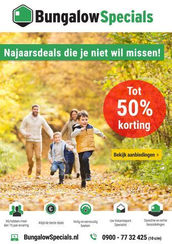 BungalowSpecials.nl reclame folder (geldig t/m 31-01)