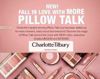 Charlotte Tilbury reclame folder (geldig t/m 30-04)