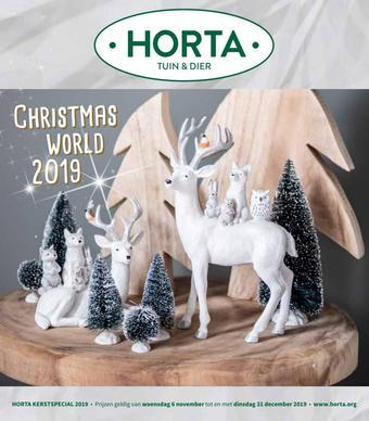 Horta reclame folder (geldig t/m 31-01)