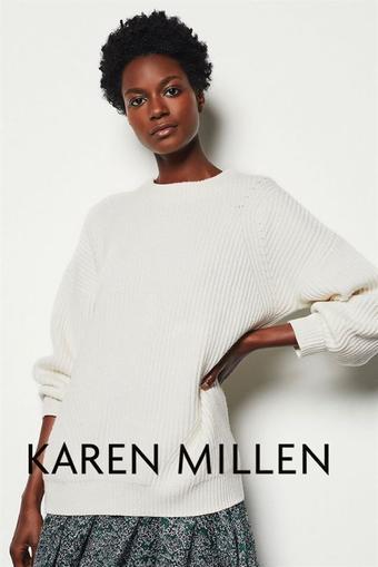Karen Millen reclame folder (geldig t/m 24-02)