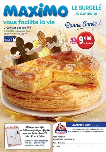 Maximo catalogue publicitaire (valable jusqu'au 23-01)