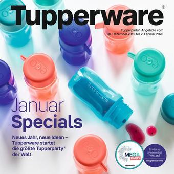 Tupperware Prospekt (bis einschl. 31-01)