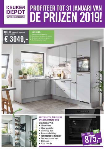 Keukendepot reclame folder (geldig t/m 02-02)