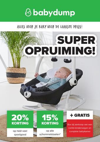 Baby-Dump reclame folder (geldig t/m 25-01)