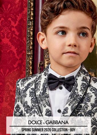 Dolce & Gabbana reclame folder (geldig t/m 29-02)