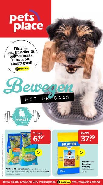 Pets Place reclame folder (geldig t/m 19-01)