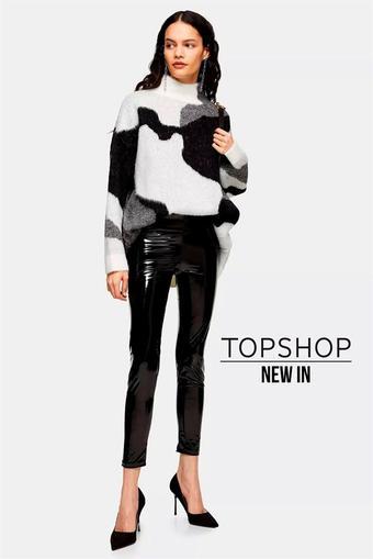 Topshop reclame folder (geldig t/m 29-02)