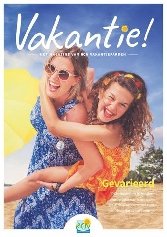 RCN Vakantieparken reclame folder (geldig t/m 31-03)