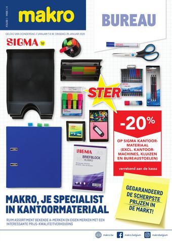 Makro reclame folder (geldig t/m 28-01)
