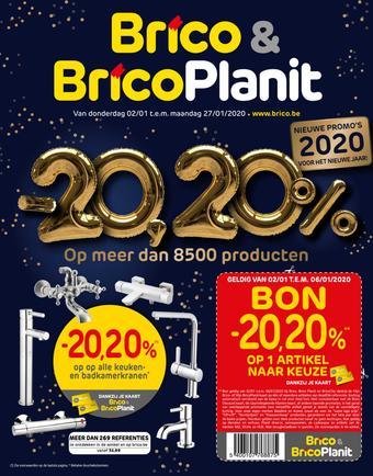 BricoPlanit reclame folder (geldig t/m 27-01)