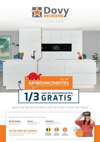 Dovy keukens reclame folder (geldig t/m 31-01)