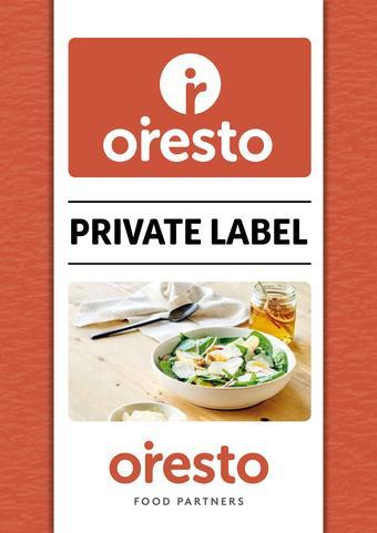 Oresto Foodpartners reclame folder (geldig t/m 31-03)
