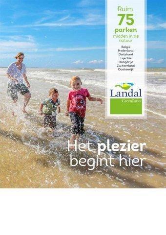Landal Green Parks reclame folder (geldig t/m 31-01)