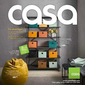 Casa reclame folder (geldig t/m 26-01)