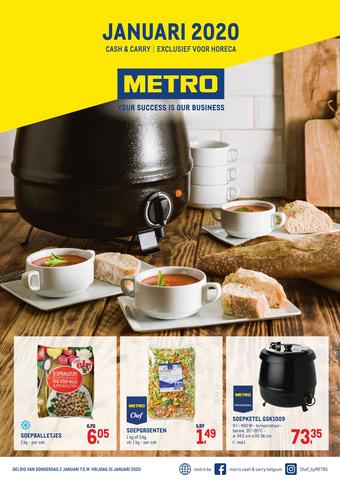 METRO reclame folder (geldig t/m 31-01)