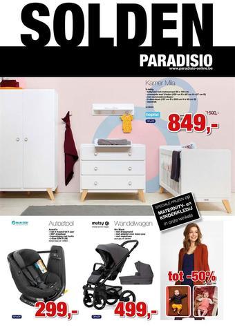 Paradisio reclame folder (geldig t/m 31-01)