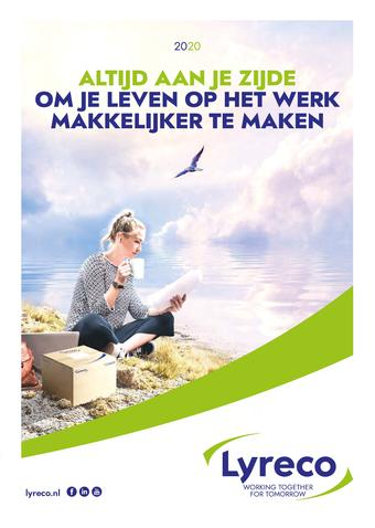 Lyreco reclame folder (geldig t/m 31-12)