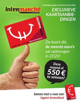 Intermarché reclame folder (geldig t/m 31-01)