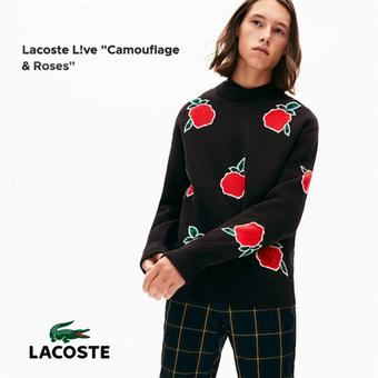 Lacoste reclame folder (geldig t/m 31-01)