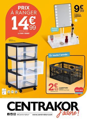 Centrakor catalogue publicitaire (valable jusqu'au 26-01)