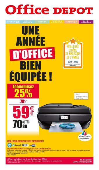 Office Depot catalogue publicitaire (valable jusqu'au 28-01)
