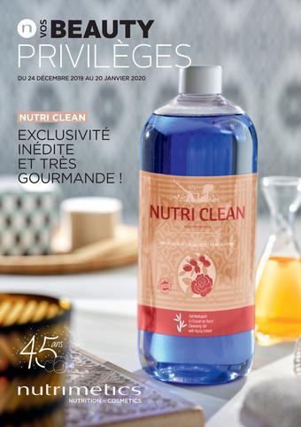 Nutrimetics catalogue publicitaire (valable jusqu'au 20-01)