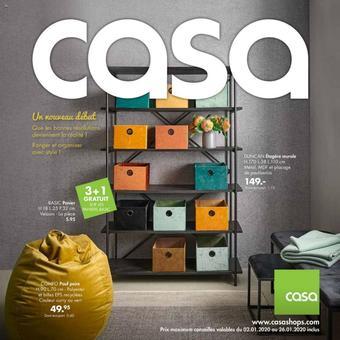 Casa catalogue publicitaire (valable jusqu'au 26-01)