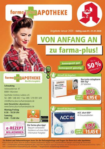 farma-plus Apotheken Prospekt (bis einschl. 31-01)