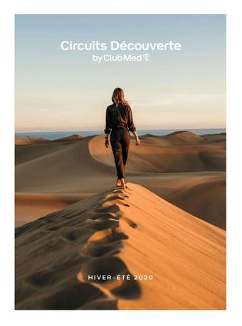 Club Med catalogue publicitaire (valable jusqu'au 30-08)