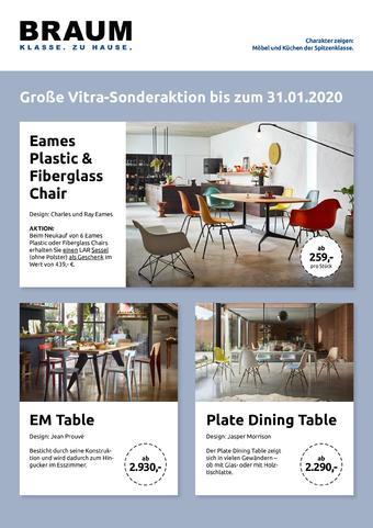 Möbel Braun Prospekt (bis einschl. 31-01)